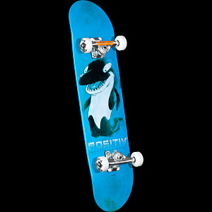 Positiv Andy MacDonald Walking Orca Complete Skateboard - 7.75 x 31.75