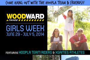 """Woodward Tahoe's """"Girls Week"""" w/ the hoopla team!"""
