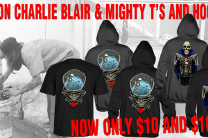 Save On Charlie Blair & Mighty T's and Hoodies