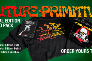 Future Primitive Special Edition DVD/Shirt Combo w/ Ripper Lunchbox