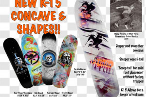 New K-15 Concave and Shapes