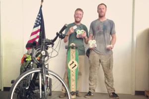 Andrew and Bob - Vet Skate Trek