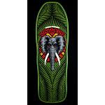 Powell Peralta Vallely Elephant Skateboard Deck GREEN - 10 x 30.25