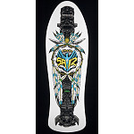Powell Peralta Saiz Totem Skateboard Deck White - 10 x 30.81