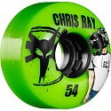 BONES WHEELS ATF Filmer Chris Ray 54mm - Green (4 pack)