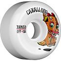 BONES WHEELS SPF Pro Caballero Baby Dragon Skateboard Wheels P5 Sidecut 56mm 84B 4pk White