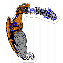 BONES WHEELS Cody Lockwood Dragon Sticker Single