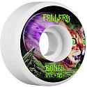 BONES WHEELS STF Pro Fellers Galaxy Cat Skateboard Wheels V3 Slims 52mm 103A 4pk