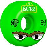 BONES WHEELS STF Mean Greens Skateboard Wheels V1 54mm 103A 4pk