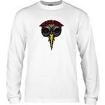 Powell Peralta Vallely Elephant L/S Shirt White