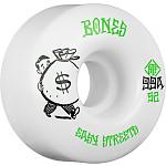 BONES WHEELS STF Easy Money Skateboard Wheels 52mm 99a Easy Streets V1 Standard 4pk White