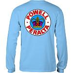 Powell Peralta Supreme L/S T-shirt - Carolina Blue