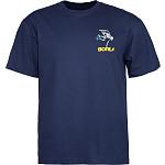 Powell Peralta Skateboarding Skeleton YOUTH T-shirt - Navy