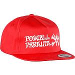 Powell Peralta Rat Bones Snap Back Cap Red