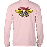Powell Peralta WInged Ripper L/S T-shirt  Light Pink