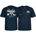Powell Peralta Rat Bones YOUTH T-shirt - Navy