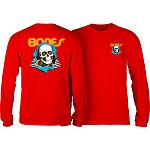 Powell Peralta Ripper L/S T-shirt -Red
