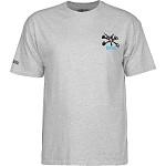 Powell Peralta Rat Bones YOUTH T-shirt - Athletic Heather Gray