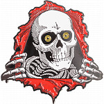 Powell Peralta Ripper Lapel Pin Red