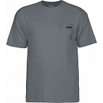 BONES WHEELS Petey T-Shirt Graphite Heather