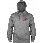Powell Peralta Winged Ripper Hooded Sweatshirt Mid Weight Gunmetal Heather