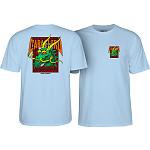 Powell Peralta Steve Caballero Street Dragon T-shirt - Powder Blue