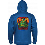 Powell Peralta Cab Street Hooded Zip Sweatshirt - Royal Blue