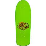 Bones Brigade® Mike McGill Jet Fighter Reissue Skateboard Deck Green - 10.28 x 30.25