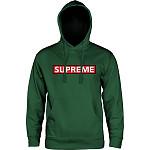 Powell Peralta Supreme Midweight Hooded Sweatshirt - Apple Green