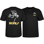 Powell Peralta Skateboarding Skeleton T-shirt - Black