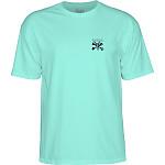 BONES WHEELS Chester T-shirt Mint