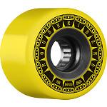 BONES WHEELS ATF Rough Rider Tank Skateboard Wheels 59mm 80a 4pk Yellow