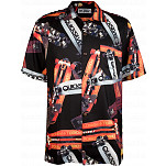 Powell-Peralta Hawaiian Print Shirt - Black