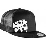 BONES WHEELS Cap Trucker Chopped - Black