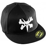 BONES WHEELS Fitted Big Rat Cap - Black