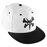 BONES WHEELS Fitted Bigger Rat Cap - White/Black