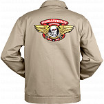 Powell Peralta Winged RIpper Jacket Tan