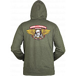 Powell-Peralta Winged Ripper Hooded Zip - Olive