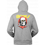 Powell-Peralta Ripper Hooded Zip - Salt & Pepper