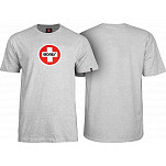 Bones® Bearings Swiss Circle T-Shirt - Gray