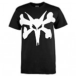 BONES WHEELS Bold Type T-shirt - Black