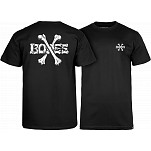 BONES WHEELS BONES T-shirt - Black