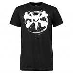 BONES WHEELS Circle Rat T-shirt - Black