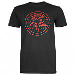 BONES WHEELS Pentagram T-shirt - Black
