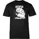 BONES WHEELS T-shirt Rabid Black