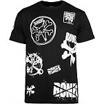 "BONES WHEELS ""TEAM"" T-shirt - Black"