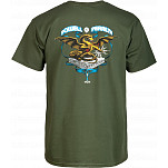 Powell-Peralta Banner Dragon T-shirt - Green