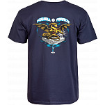 Powell-Peralta Banner Dragon  T-shirt - Navy