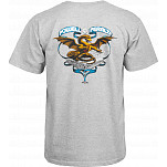 Powell-Peralta Banner Dragon T-shirt - Gray