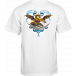 Powell-Peralta Banner Dragon T-shirt - White